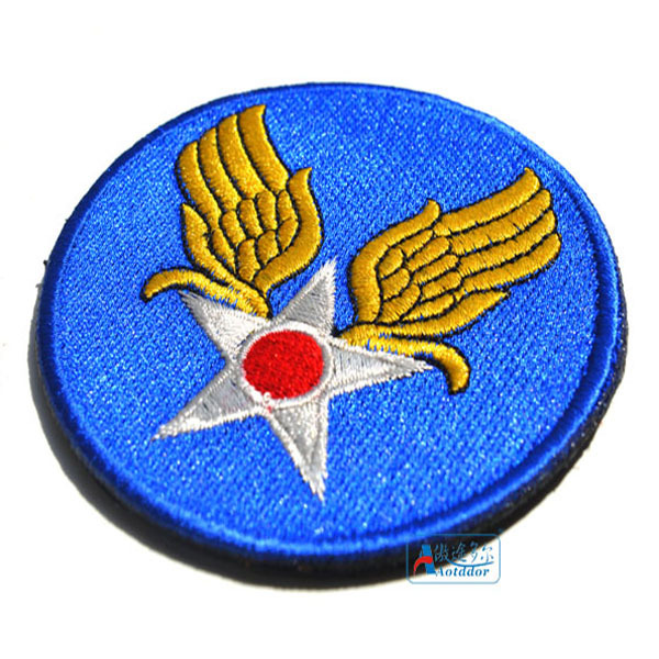 US $2 5 |World War II US WWII land Air Force Insignia / armband patch  military patches badges morale patches-in Patches from Home & Garden on