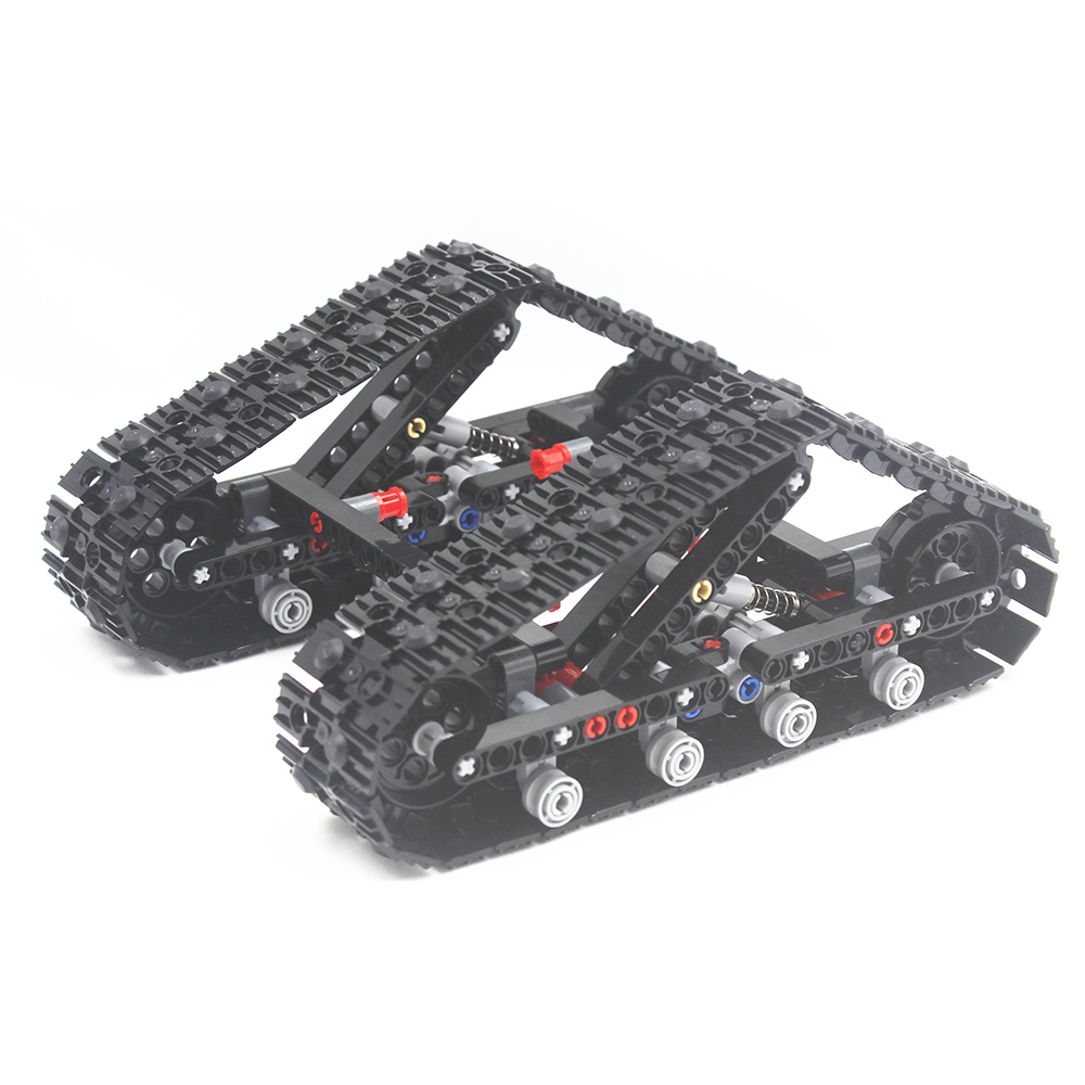 Building Blocks MOC Technic  Track System Compatible With Lego