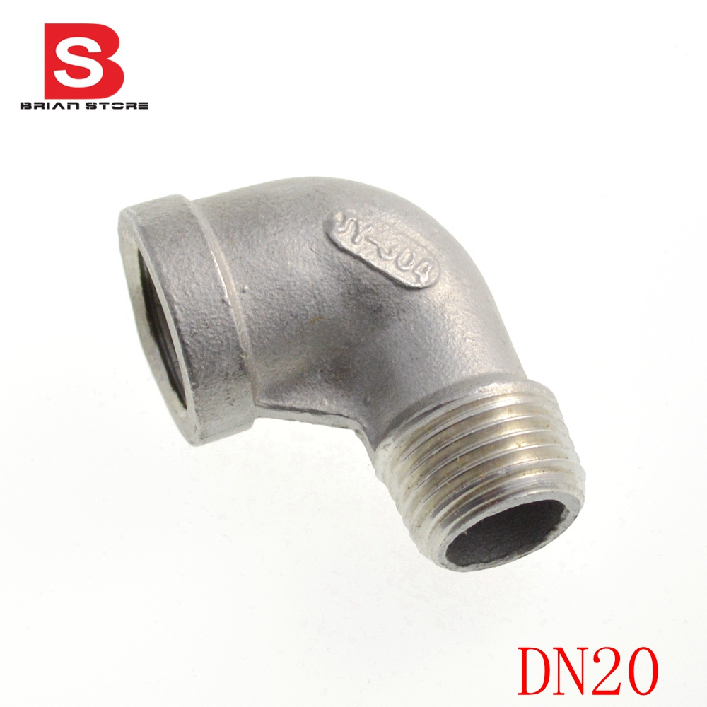 Dn20 3 4 equal bspt elbow 90 screwed connection joint for Pipes used in plumbing