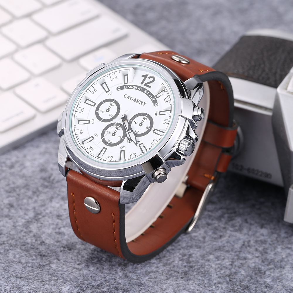 cool big case watch men golden analog quartz mens watches military style watch man free shipping dz watches wholesale free shipping (6)