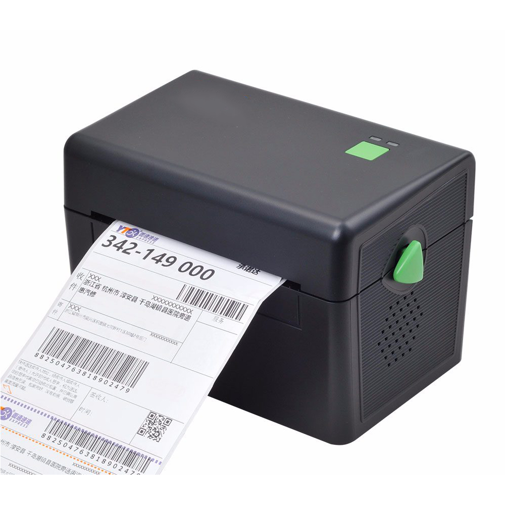GZL4001 Pos High Quality 108mm 4 inch Thermal Label Barcode Printer USB Port For Delivery Logistics Waybill free software 2017 new arrived usb port thermal label printer thermal shipping address printer pos printer can print paper 40 120mm