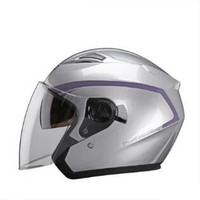 2018 Newest helmets open face motorcycle motocross helmets double lens helmets racing helmet
