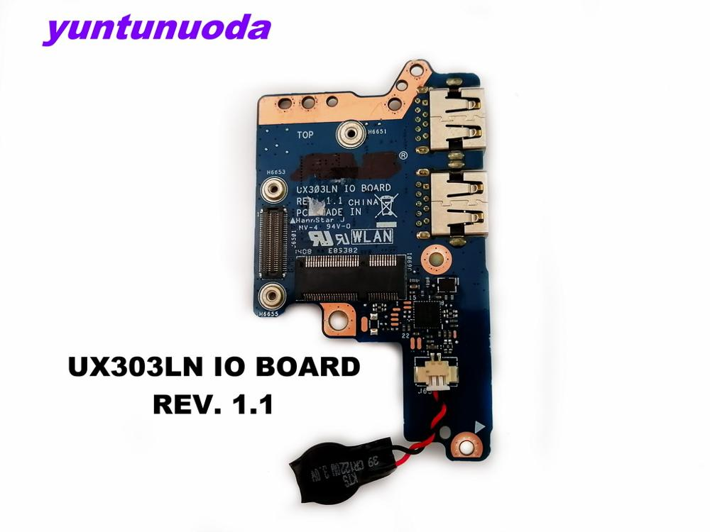Original for ASUS UX303LN usb board UX303LN IO BOARD REV. 1.1 tested good free shipping