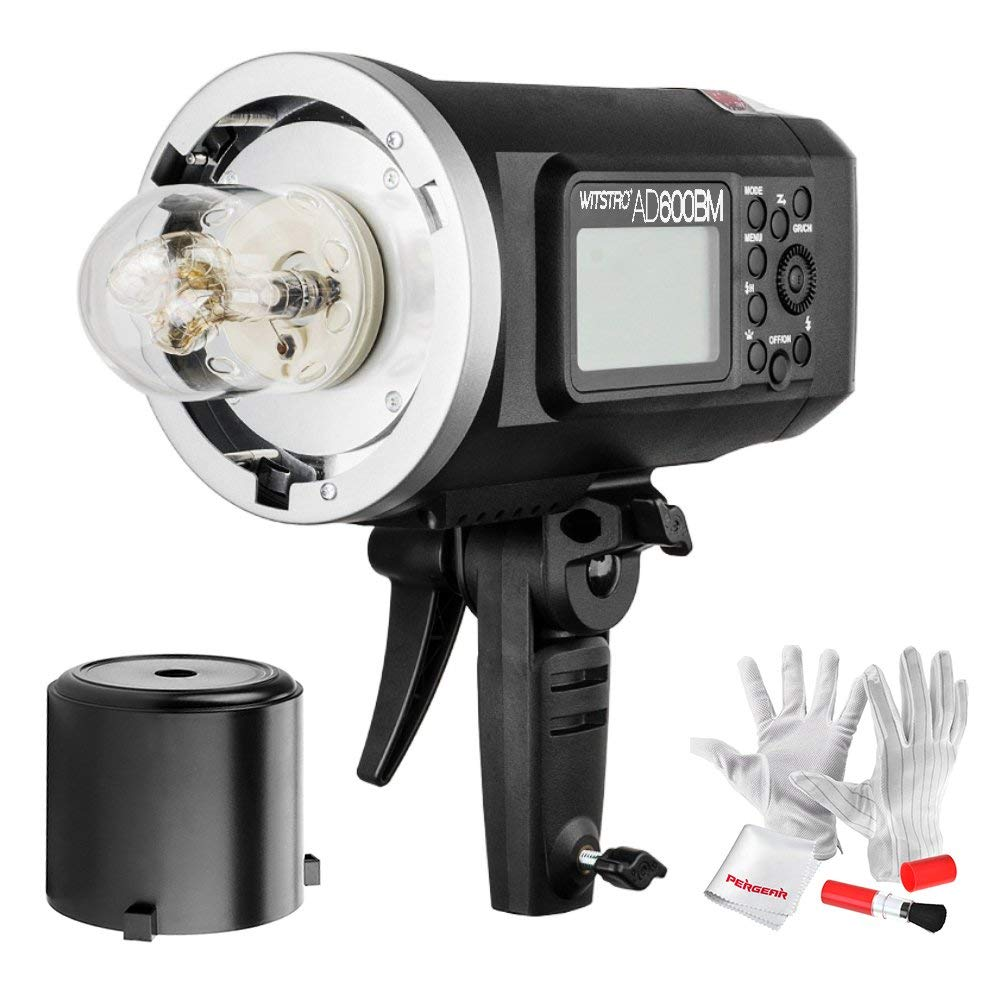 <font><b>Godox</b></font> <font><b>AD600BM</b></font> 600W Outdoor Flash GN87 HSS 1/8000s Built-in with 8700mAh Battery Bowens Mount For Outdoor Shoot CD50Y image