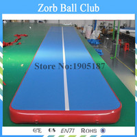 Free Shipping 7x1x0.2m Cheap Inflatable Gymnastics Airtrack Floor Tumbling Air Track For Kids Free One Pump