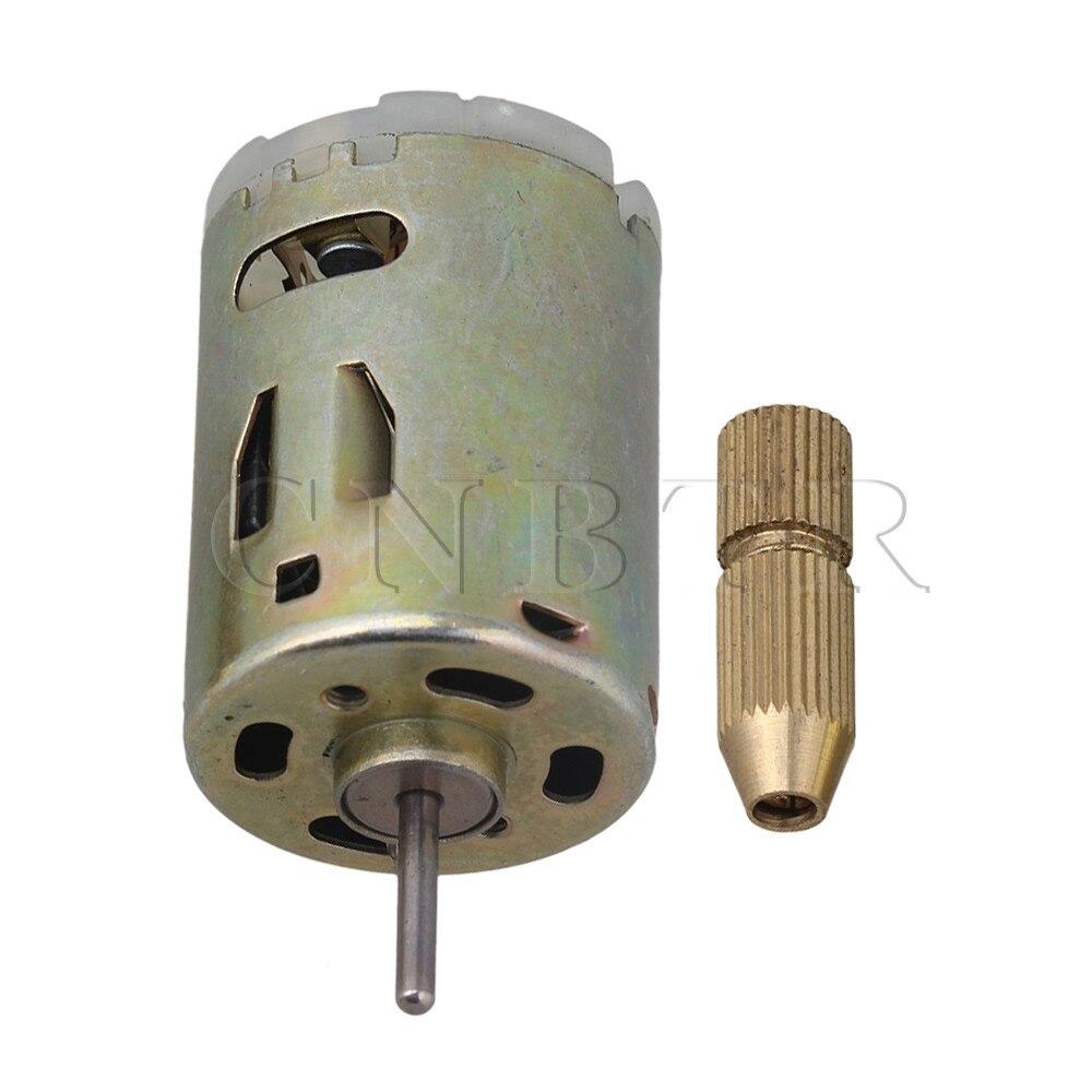 CNBTR 12V Small PCB Drill Press Drilling with 0.8mm drill Diameter 28mm Motor Diameter mini mirco electric pcb wood model motor drill press drilling bits tool twist drill 12v 10500 rpm min lo