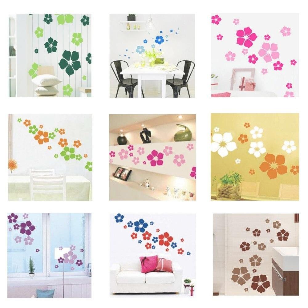 Beautiful Kids Rooms: 1pc Removable Beautiful Flowers Wall Sticker Children