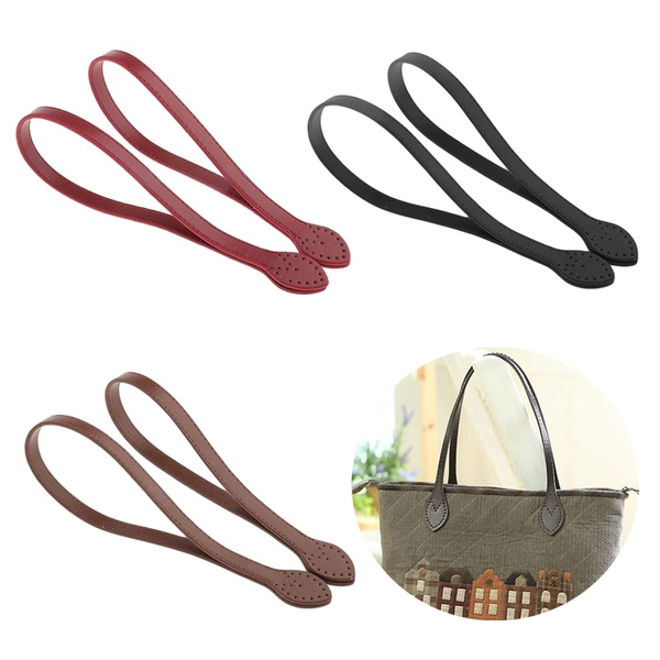 60cm Leather DIY Belt Bag Strap Shoulder Bag Band Handbag Handle Replacement