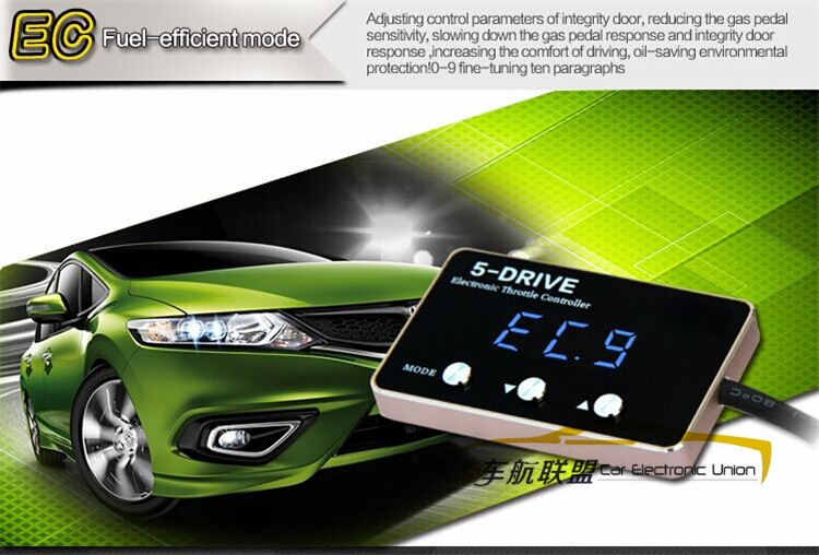 Accesorios de automóviles de metal casa panel de pantalla LED digital Pedal coma