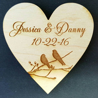 Personalized Save The Date Wooden Wedding Magnet Custom Wedding Save The Date Bridal Shower Decor Favors