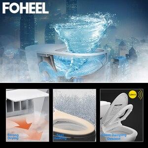 Image 2 - Fotalon housse de siège de toilette intelligent, couverture électronique de bidet, assise propre et sèche, chauffée