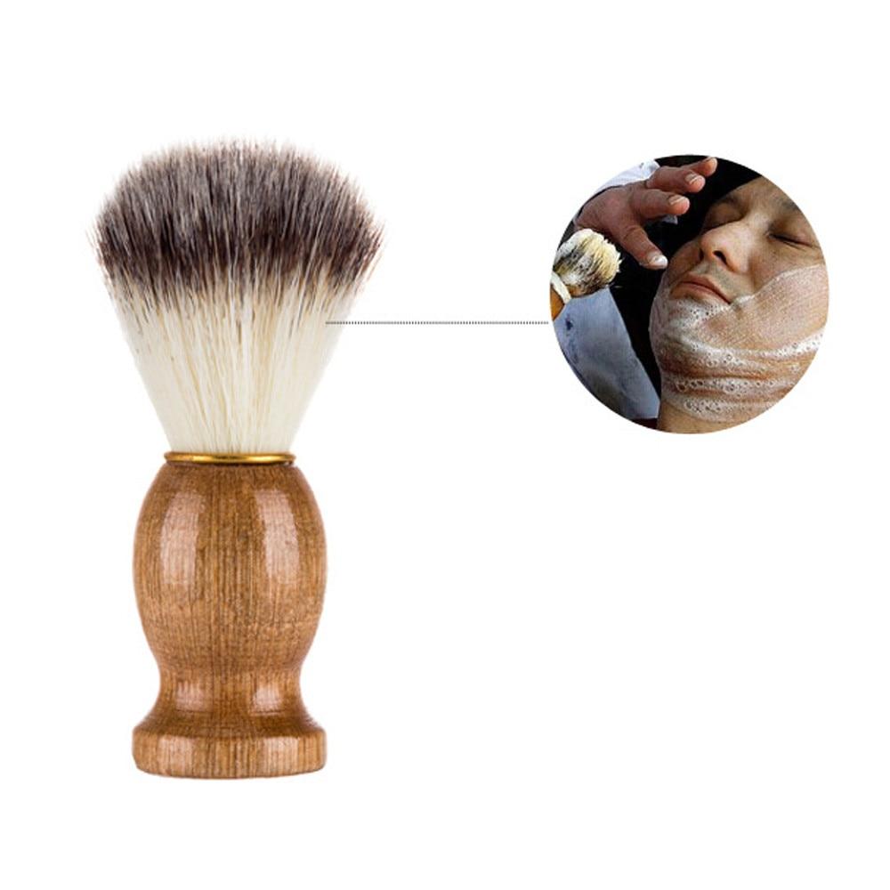 Bad & Dusche Schönheit & Gesundheit Männer Rasieren Bär Pinsel Bär Reinigung Pinsel Beste Dachs Haar Rasieren Holzgriff Barber Razor Werkzeug Rasieren Pinsel GüNstige VerkäUfe