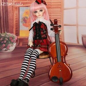 Image 3 - Bajkowy Minifee Mirwen 1/4 Model BJD SD dziewczyny chłopcy oczy wysokiej jakości zabawki sklep żywica figurki FL luodoll