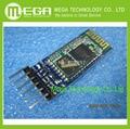 5 шт./лот HC05 JY-MCU АНТИРЕВЕРСА, встроенный интерфейс Bluetooth модуль последовательной сквозной, HC-05 master-slave 6pin