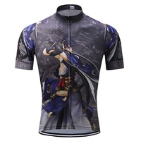 2017 Men Bicycle Racing Cycling Jersey Short Sleeve Breathable Jersey Mtb Ciclismo Bike Polyester Jersey