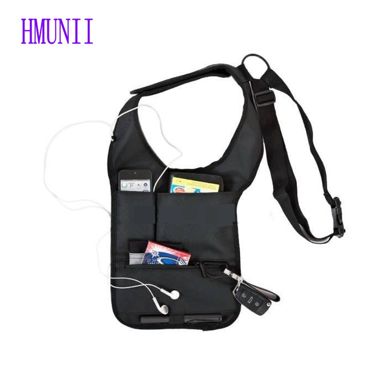 New Upgrade Military Storage Bag Portable Hidden Underarm Shoulder Pouch Pack Tablet Card Case Agent Package men s anti theft hidden agents underarm shoulder bag