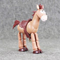 18cm Toy Story Chinese Characteristics Horse PVC Figure Animals World Toys Gift for Kids Education