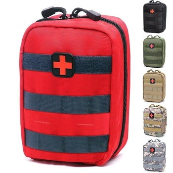 CQC 1000D Utility Molle Tactical Medical Pouch First Aid Kit EMT Emergency Military Outdoor Hunting Bag IFAK EDC Survival Pack my days tactical ifak first aid bag molle emt rip away medical military utility pouch rescue package for travel hunting hiking