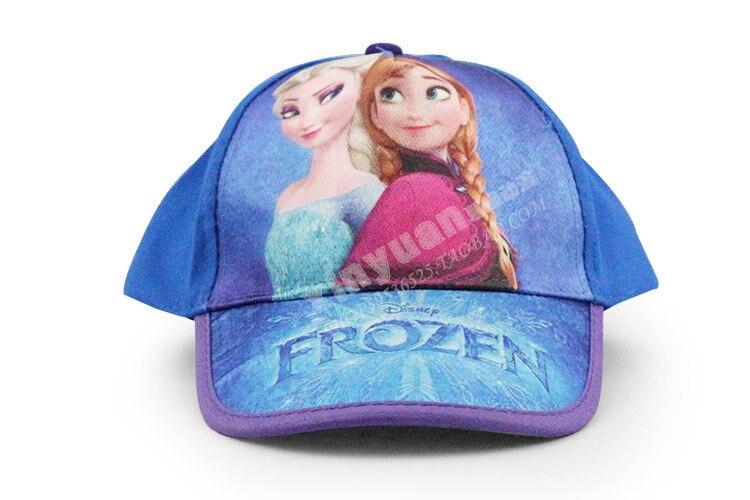 2014 Frozen sun helmet Elsa Princess Girl Cap Adjustable Sun Hat for Kids  Girls Baseball Caps Kids  world-in Holidays Costumes from Novelty   Special  Use on ... c34f1f14d96