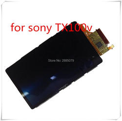 FREE SHIPPING ! LCD Display Screen Repair Parts for SONY TX100 OLED Digital Camera With Backlight With touch