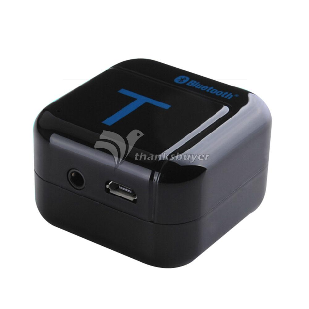 H 266T Pairing 3 5mm Bluetooth Wireless Music Audio Transmitter Adapter for Phone TV PC CD