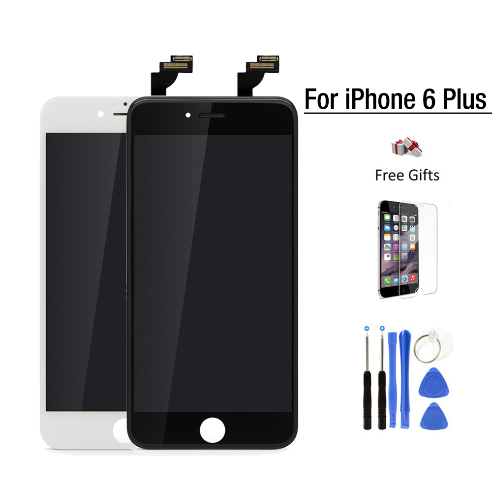 ФОТО For apple iPhone 6 Plus LCD touch Screen Replacement 5.5 inch Display pantalla full Digitizer Assembly tianma Gread AAA Quality