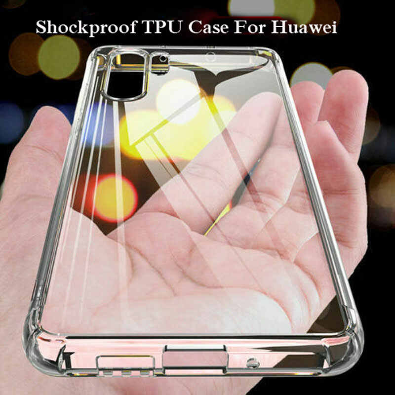 For Huawei P20 Lite 2019 TPU Silicone Case Airbag Cover Shockproof Cover Honor 8s 10i 20i 20 Y6 Y7 Pro P Smart Z Plus 2019 Capa