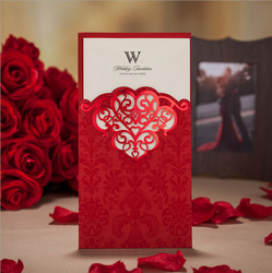 100pcs shiny red vertical hollow pattern wedding invitation cw2007.jpg 250x250