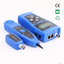 NF 308 Blue color Network monitoring cable tester LCD Wire Fault Locator LAN Network Coacial BNC