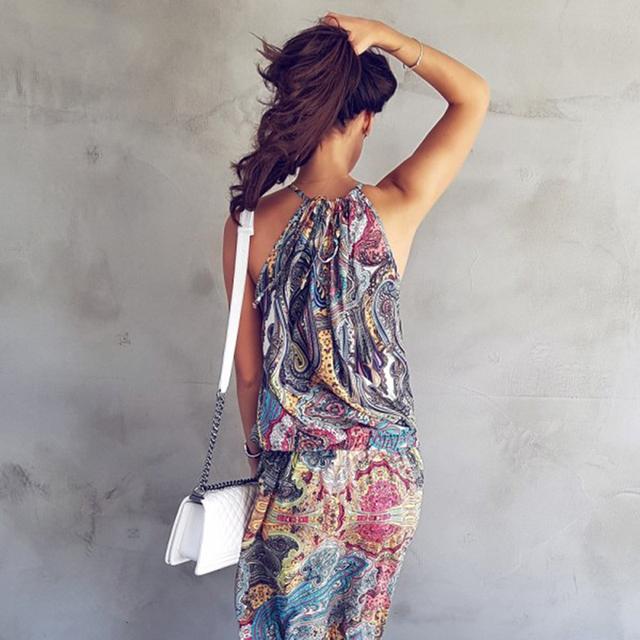 Spaghetti Strap Casual Summer Dress