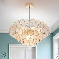 Living Room Chandelier Fashion Luxury After Modern Simple Glass Lighting Designer Creative Hotel Decoration Restaurant Led