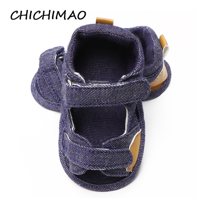 f1ae38cb9 CHICHIMAO Summer Baby Shoes Newborn Baby Boys Girls Soft Sole Infant  Toddler Shoes Anti-slip Summer Shoes 0-18 Months