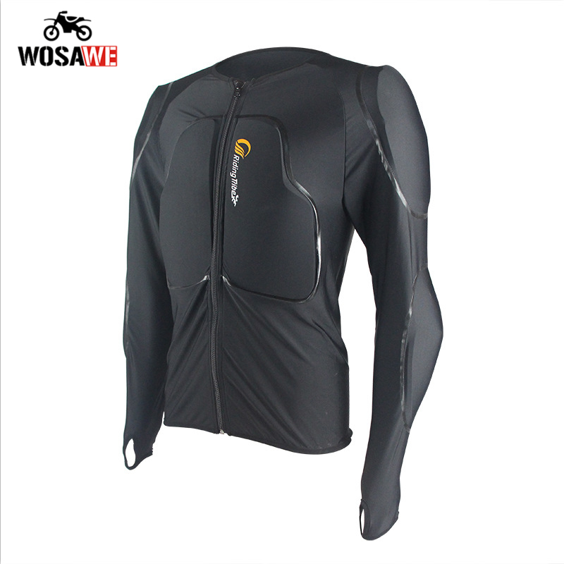 Veste de Moto Motocross chemises hors route amovible mémoire de Protection équipement de sécurité armure corporelle Moto veste de course vtt Protection