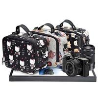 Camera Shoulder Bag Cute Leather Camera Lens Case Pouch For Panasonic DC GH5GK DC GF9KGK LX10 LX100 ZS70 TX1 for Leica CL Q P