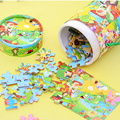 Jigsaw Puzzles For Kids Wood Children Baby Puzzle Toys 3 Years a Gift For The New Year Children's Educational Toys Paper 70B020