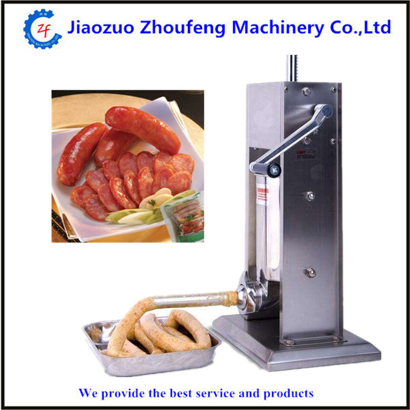 5L manual sausage stuffer filler machine for making sausage ham economic s steel manual s series sausage filler for hotel butcher home use and hunters