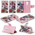 Flip case para lg g4 stylus 4g ls770 h630 h635 h540f cubierta coque hoesj para lg g5 v10 funda carcasa con soporte titular de la tarjeta