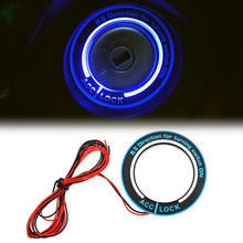 For Ford focus 2 Focus 3 2005 2011 2012 2013 Kuga MONDEO Car light LED Ignition Switch cover/Ring key ring decoration stickers