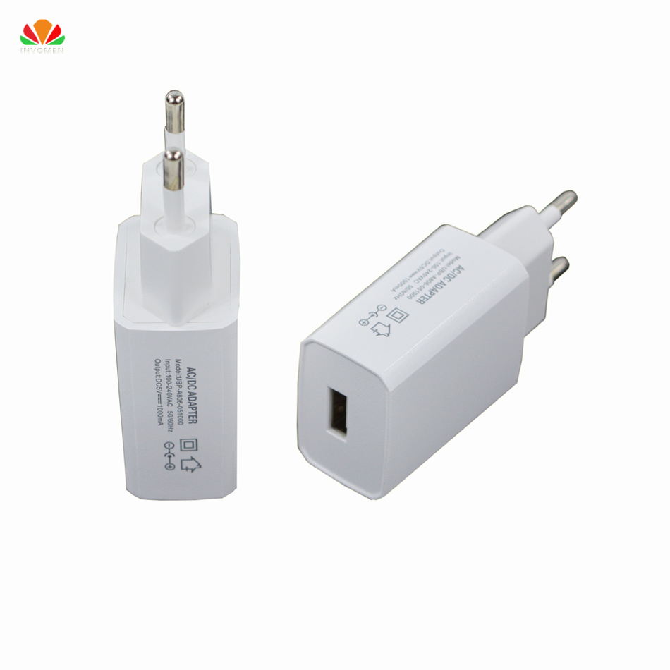 quality ac dc adapter mobile phone charger usb charger 1a fast charge for iphone ipad samsung. Black Bedroom Furniture Sets. Home Design Ideas