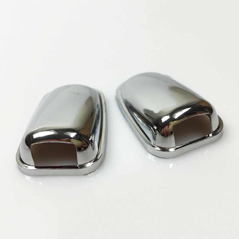 Chrome Mặt Trước Kính Chắn Gió Kính Chắn Gió Máy Giặt Đầu Vòi Xịt Nước Lau Phun Nước Bao Viền Cho Xe Ford Focus MK3 Mondeo MK4