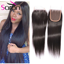 Spring Queen Hair Lace Closure Cheap Brazilian Straight Closure Brazilian Lace Closure 3 Part Lace Front Top Closure Straight