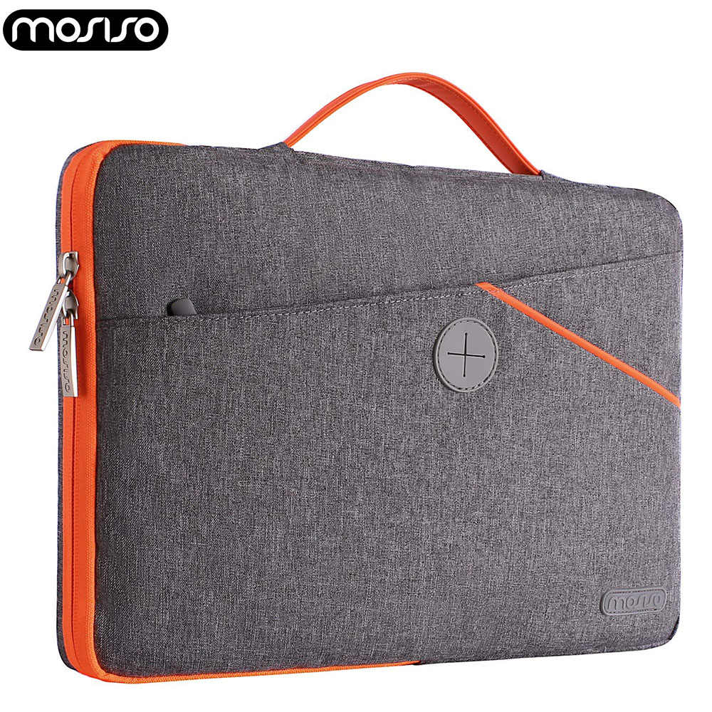 Mosiso Laptop 13 13.3 Inch Tahan Air Tas untuk Macbook Air Pro 13 Notebook DELL HP Shockproof Bisnis Sleeve Bag Case 2018