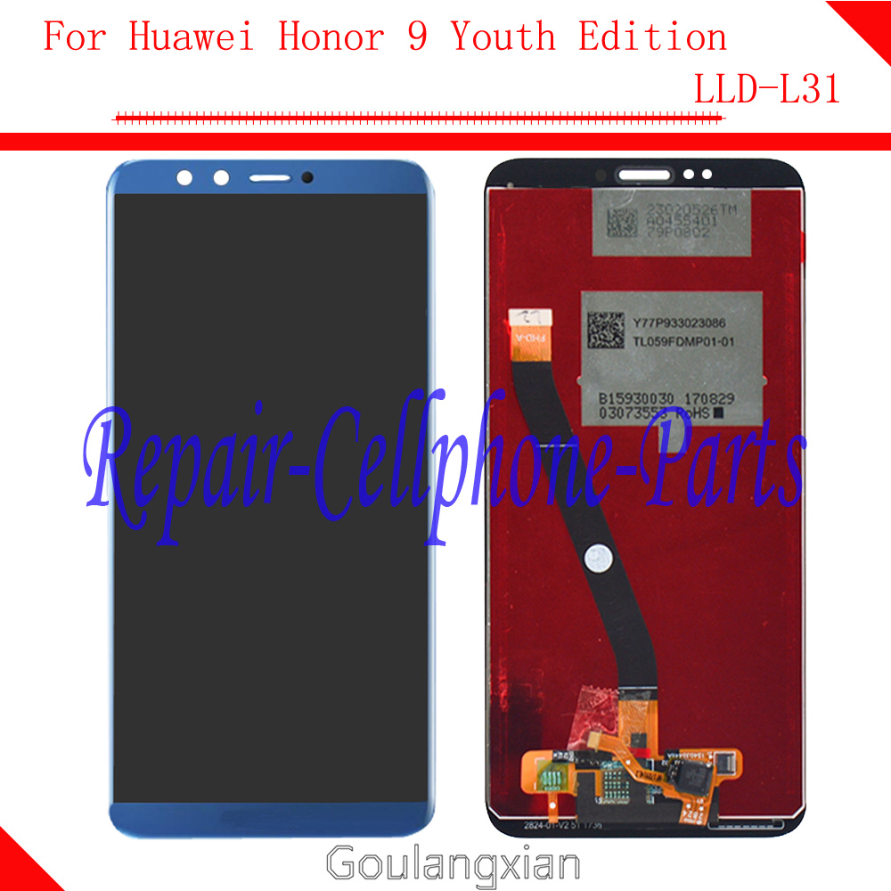 For Huawei Honor 9 Youth Edition Full LCD display + Touch screen digitizer assembly For Huawei Honor 9 Youth Edition LLD-L31For Huawei Honor 9 Youth Edition Full LCD display + Touch screen digitizer assembly For Huawei Honor 9 Youth Edition LLD-L31