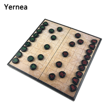 New  folding portable magnetic chinese chess toys acrylic