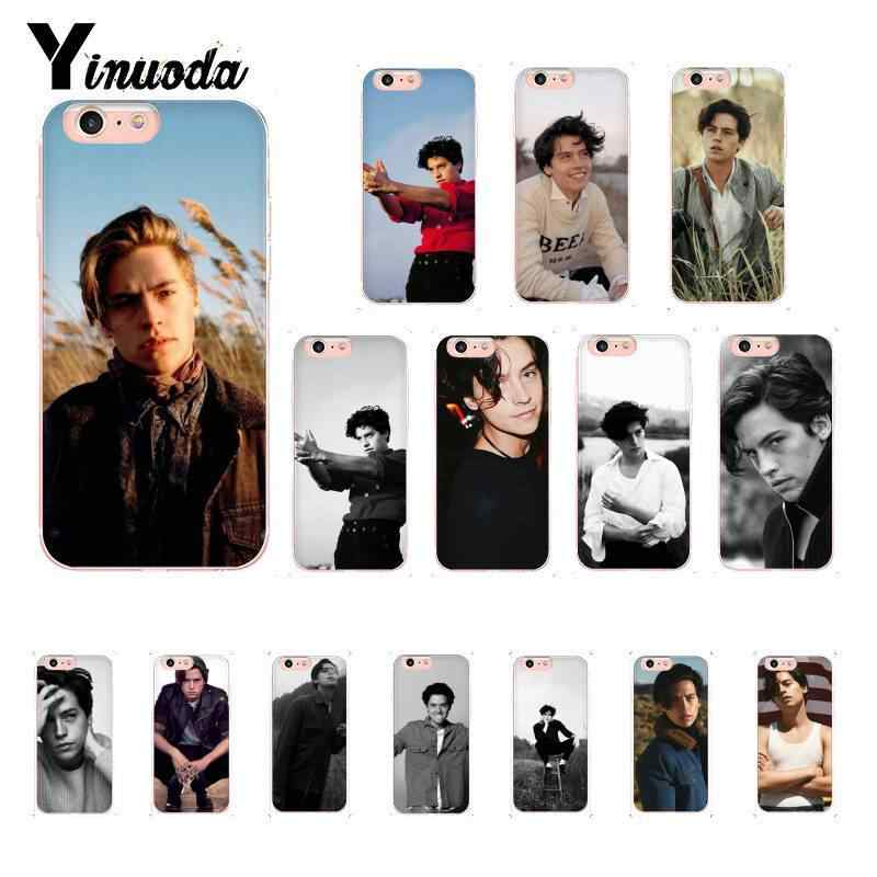 Yinuoda American TV Riverdale Cole Sprouse Custom Photo Soft Phone Case for iPhone X XS MAX 6 6S 7 7plus 8 8Plus 5 5S XR 10 Case