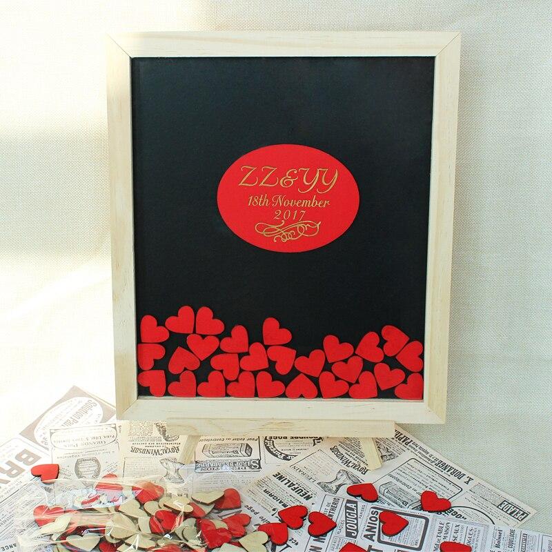 Prilagođeno vjenčanje Knjiga gostiju Alternativne personalizirane - Za blagdane i zabave - Foto 1