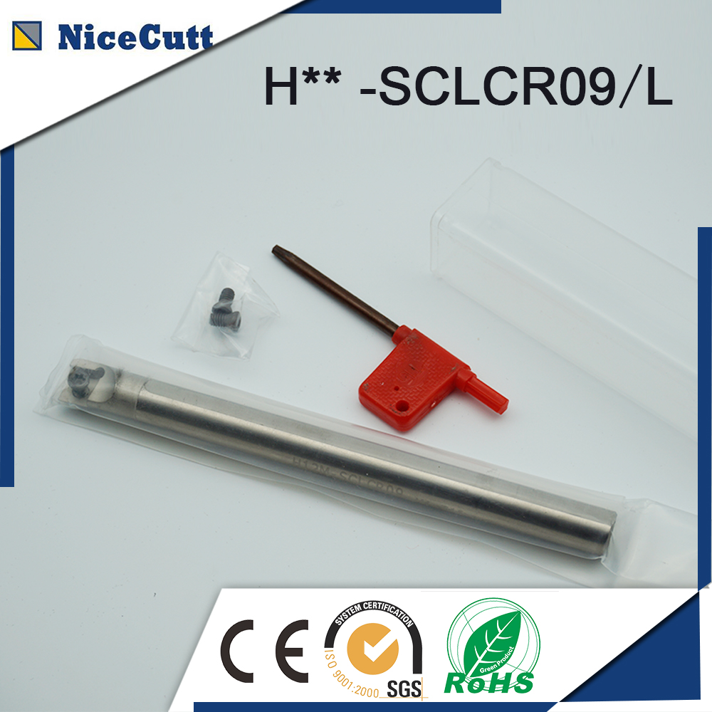 High Quality Internal Turning Tool  H16Q-SCLCR09 for CCMT Series Insert quality assurance hot selling internal grooving and turning tool holder mgivl3125 5 mgivr3125 5 for carbide insert mgmn500 m