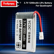1200mAh 3.7V Li-Po Lipo Battery for Syma X5C X5SW X5C-1 X5SC JJRC H37 Top Sale RC Quadcopter Drone Battery for SYMA Drone 3 7v 500mah 600mah 720mah 25c lipo battery spare parts for syma x5 x5c h5c x5sc x5a rc quadcopter