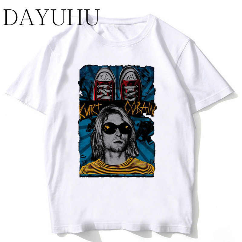 nirvana 2018 New Arrivals Men Cool Printed Short Sleeve T-Shirt Male Cool Tops Casual O-neck Soft Tee men funny tshirt MR359