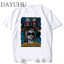 a72faacd nirvana 2018 New Arrivals Men Cool Printed Short Sleeve T-Shirt Male Cool  Tops Casual O-neck Soft Tee men funny tshirt MR359